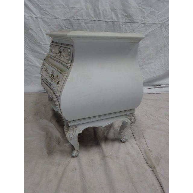 Carved Swedish Rococo Chest - Image 3 of 5