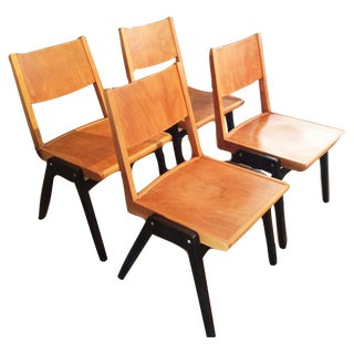 Lubke Stuhl Mid-Century Dining Chairs - Set of 4