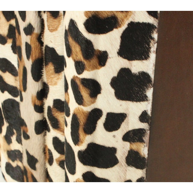 Image of Western Collection in Leopard Hide - Set of 5