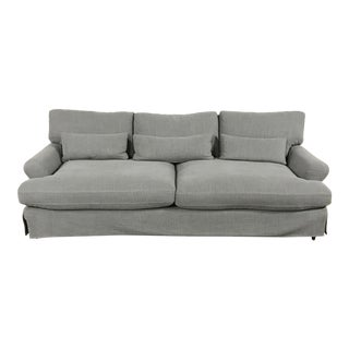 Heavy Cloth Slipcover Sofa