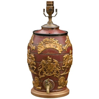 English Spirit Barrel Lamp