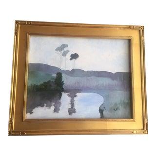 'Foggy Day' Plein Air Painting