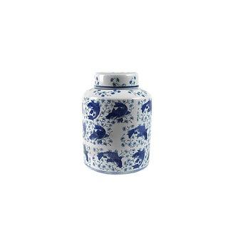 Koi Fish Porcelain Tea Vessel