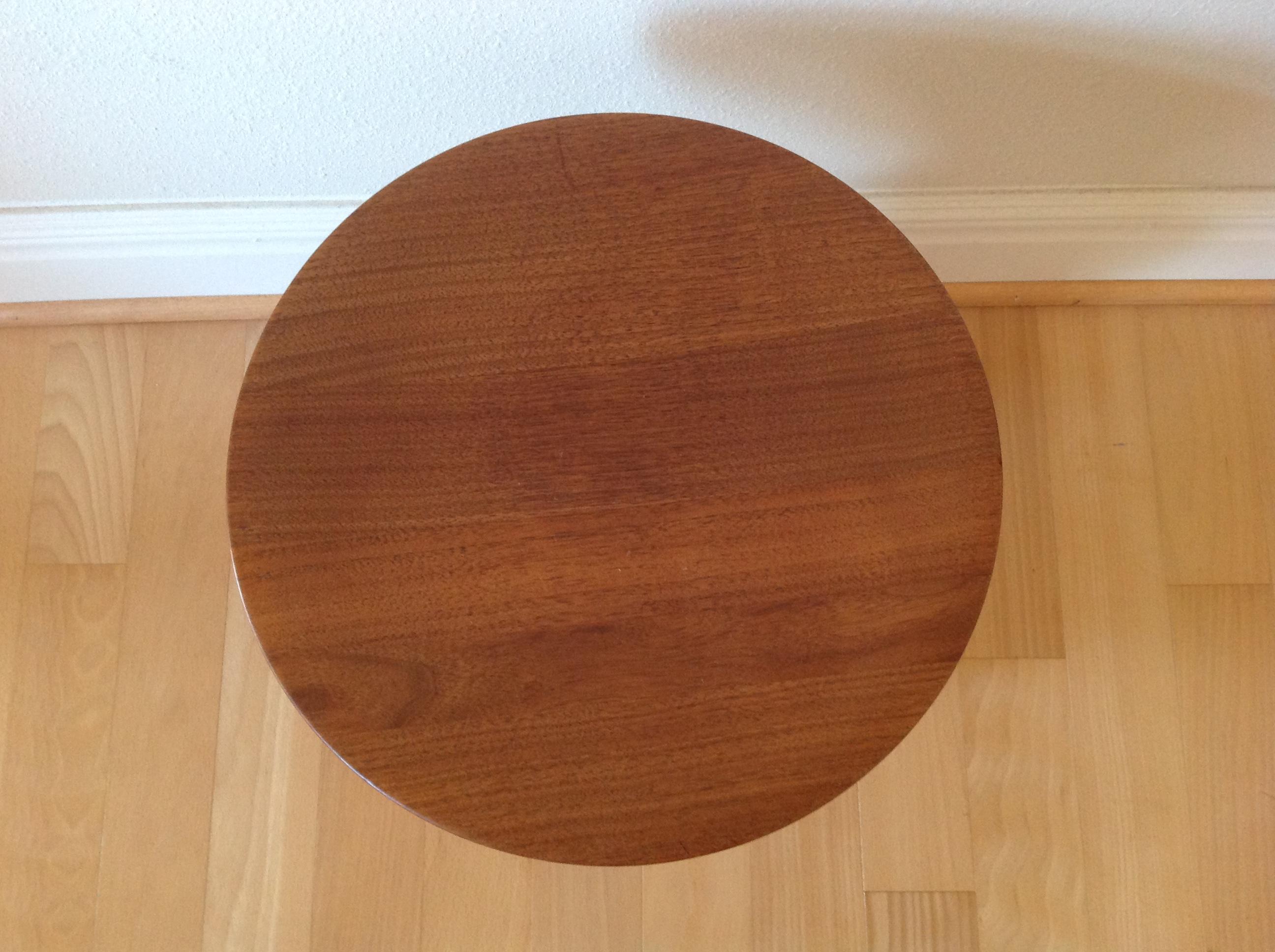 Eames Walnut Stool For Herman Miller Chairish