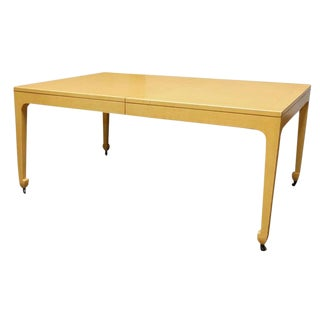Baker Far East Oak Dining Table