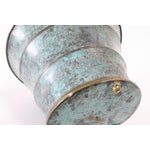 Image of Vintage Italian Bronze Vase