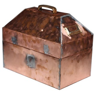 Early 20th-C. Copper Case