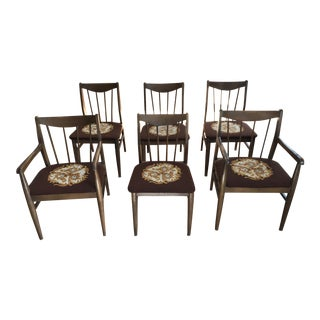 Hooker Furniture Mid-Century Dining Chairs - Set of 6