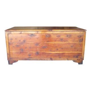 Cedar Plank Blanket Trunk / Chest / Box
