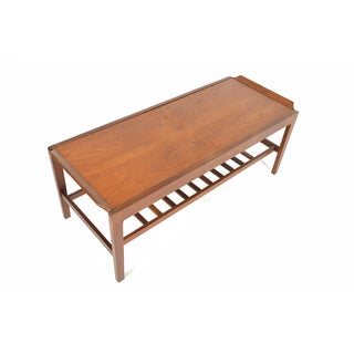 Teak Surfboard Extension Coffee Table by Remploy
