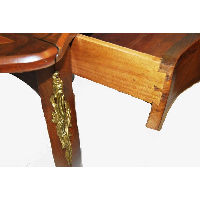 Image of Antique French Drop Leaf Table