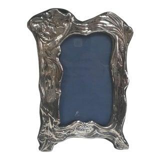 Art Nouveau Sterling Picture Frame