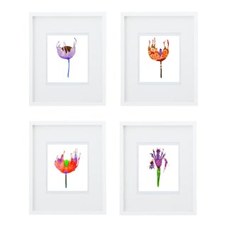Botanical Groupings Prints - Set of 4