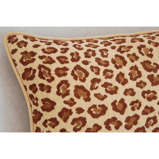 Leopard Velvet Lumbar Body Pillow - Image 6 of 8
