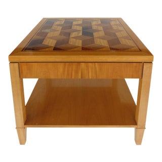 Baker Geometric Design Side Table