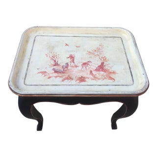 Antique Tray Top Table