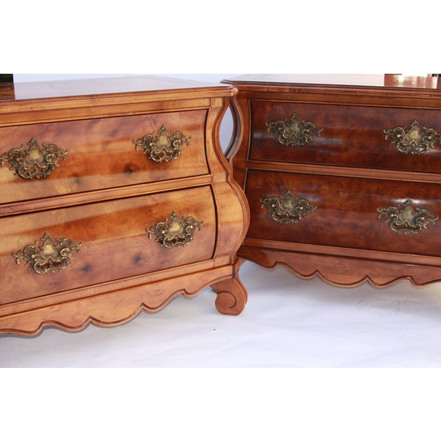 Bombe Commodes by Henredon - A Pair - Image 3 of 11