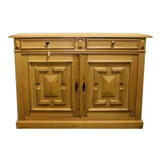 19th Century English Server, Dry Bar or Console Cabinet
