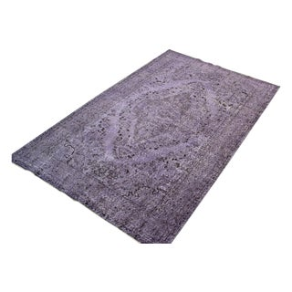 Overdyed Turkish Oushak Rug - 5′9″ × 9′4″