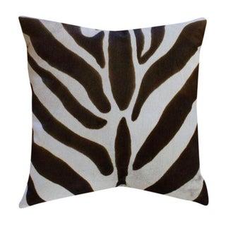 Oly Studio Ponyskin Pillow - Zebra Print 1