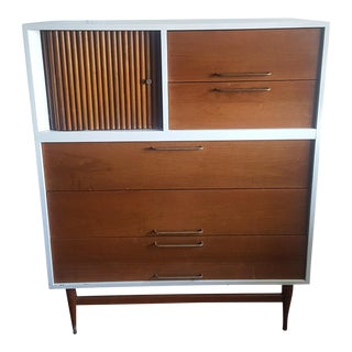 Jens Risom Attributed Mid-Century Highboy