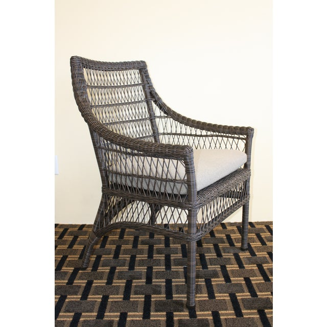 Image of McGuire Water Mill Arm Chair
