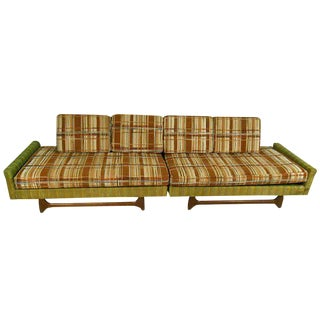 Mid-Century Modern Adrian Pearsall Style Sectional Sofa - A Pair
