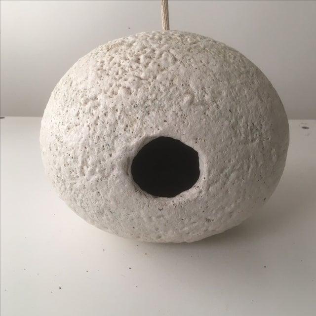 Stan Bitters White Ceramic Birdhouse - Image 5 of 8