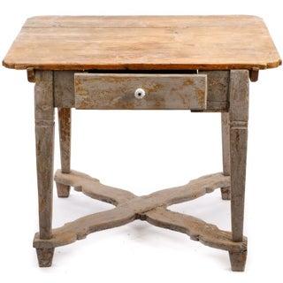 18th Century Gustavian Farm Table