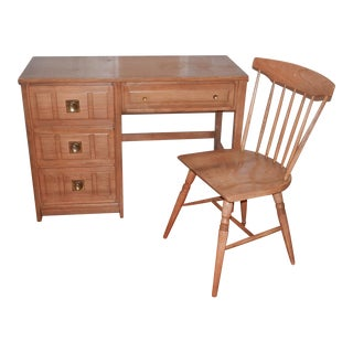 Home Office Desk and Chair Set