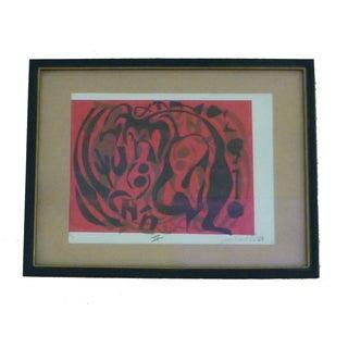 Susan Kronfeld Abstract Print