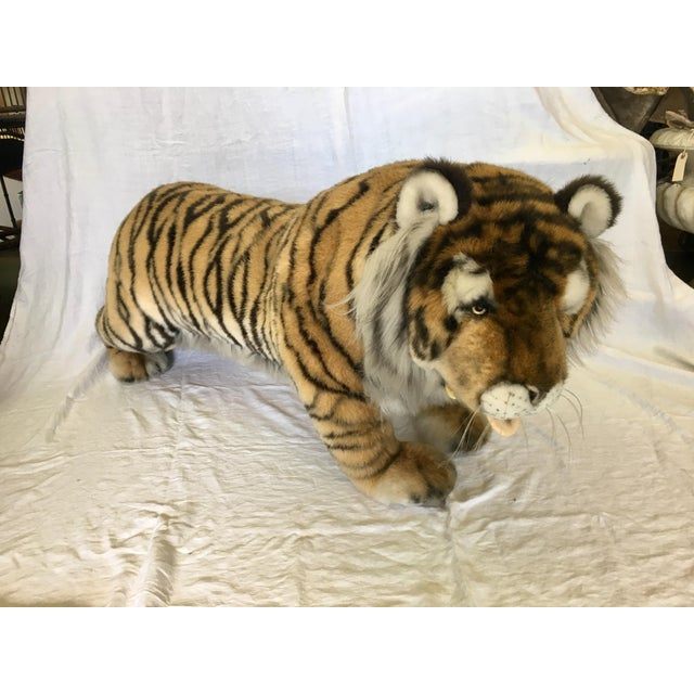 Vintage Nordstrom's Advertising Display Life Sized Plush Tiger - Image 2 of 11