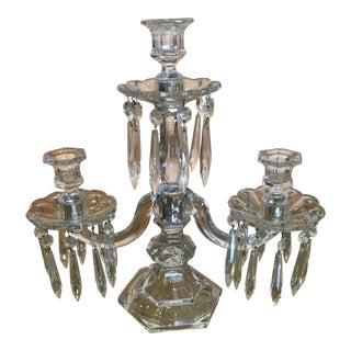 Antique Heisey Candelabra
