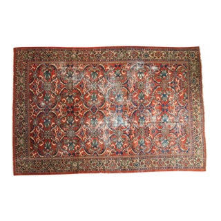 "Vintage Mahal Carpet - 7' x 10'6"""