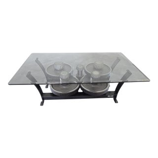Gear Reduction Box Coffee Table