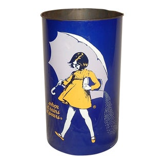 "Vintage Morton Salt Can ""When It Rains It Pours"""