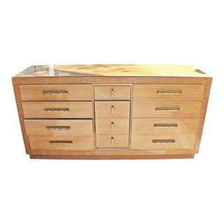 Mid-Century Modern Oak Dresser