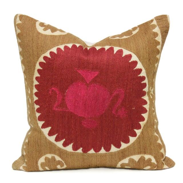 Suzani Mandala Pillow - Image 1 of 3
