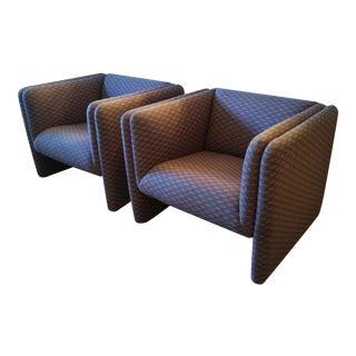 Metropolitan Furniture Corp. Club Chairs - A Pair
