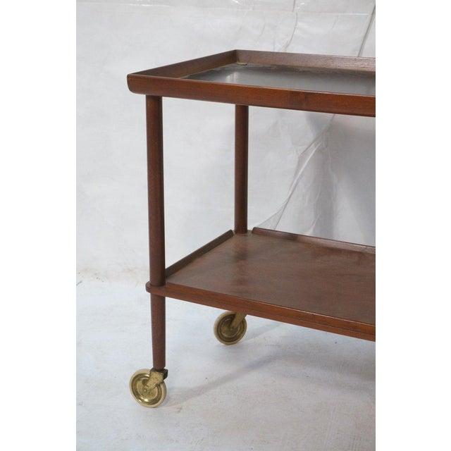 Danish Modern Teak Bar Cart Chairish