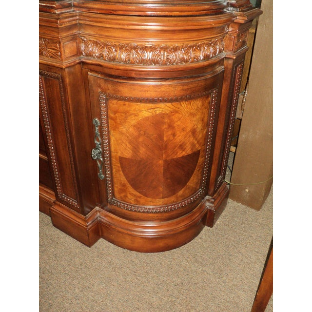 Chippendale-Style Marble Top Buffet - Image 4 of 5