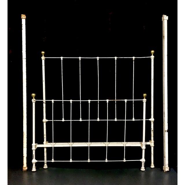 1900's Metal Bed Frame - Image 2 of 4