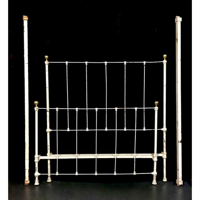 Image of 1900's Metal Bed Frame