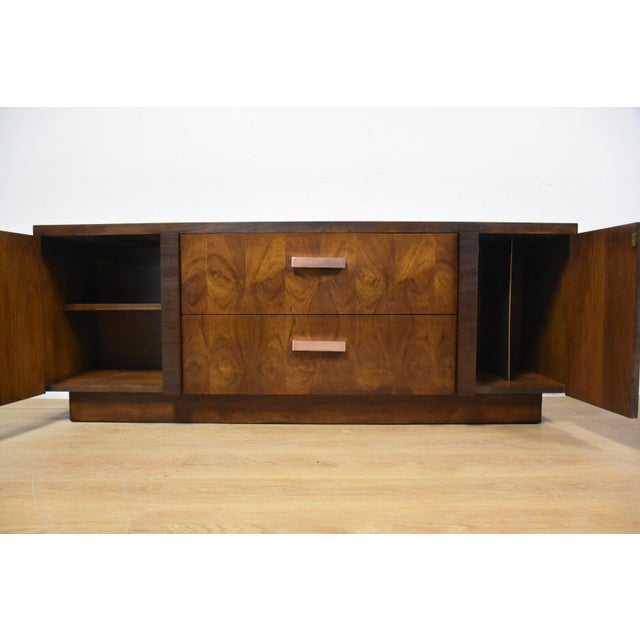 Lane Brutalist Console Credenza - Image 10 of 10