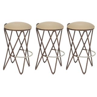 David Francis Proton Bar Stools - Set of 3