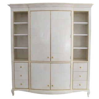 Italian Modern Cream Cupboard
