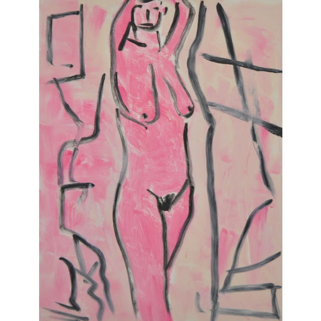 Image of Modernist Nude by A.J. Krakower 2005