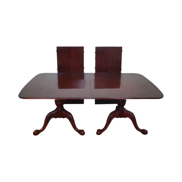 Wellington Hall Duncan Phyfe-Style Dining Table - Image 1 of 10