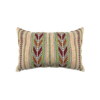 Striped Moroccan Berber Pillow