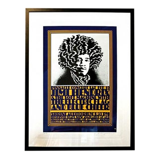 "2013 John Van Hamersveld ""Pinnacle Hendrix"" Concert Poster"
